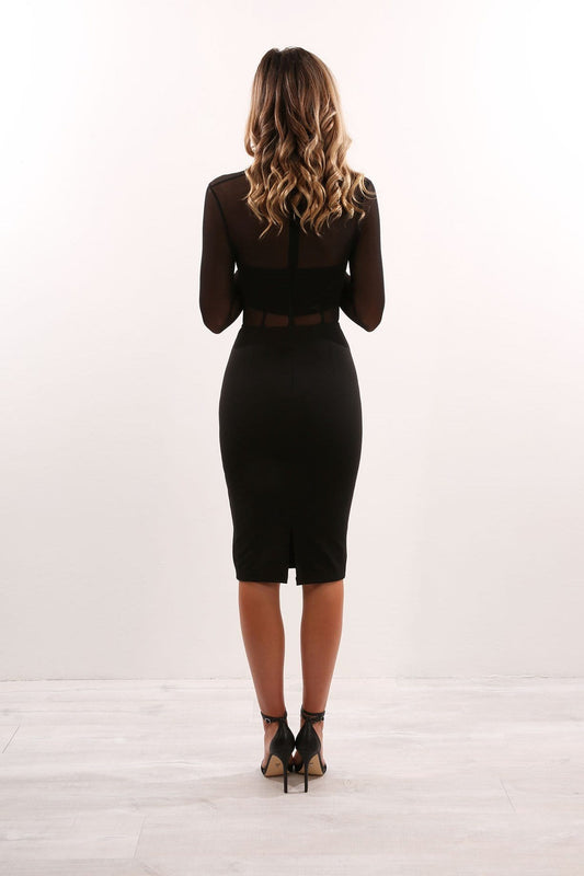 Nieva Dress Black