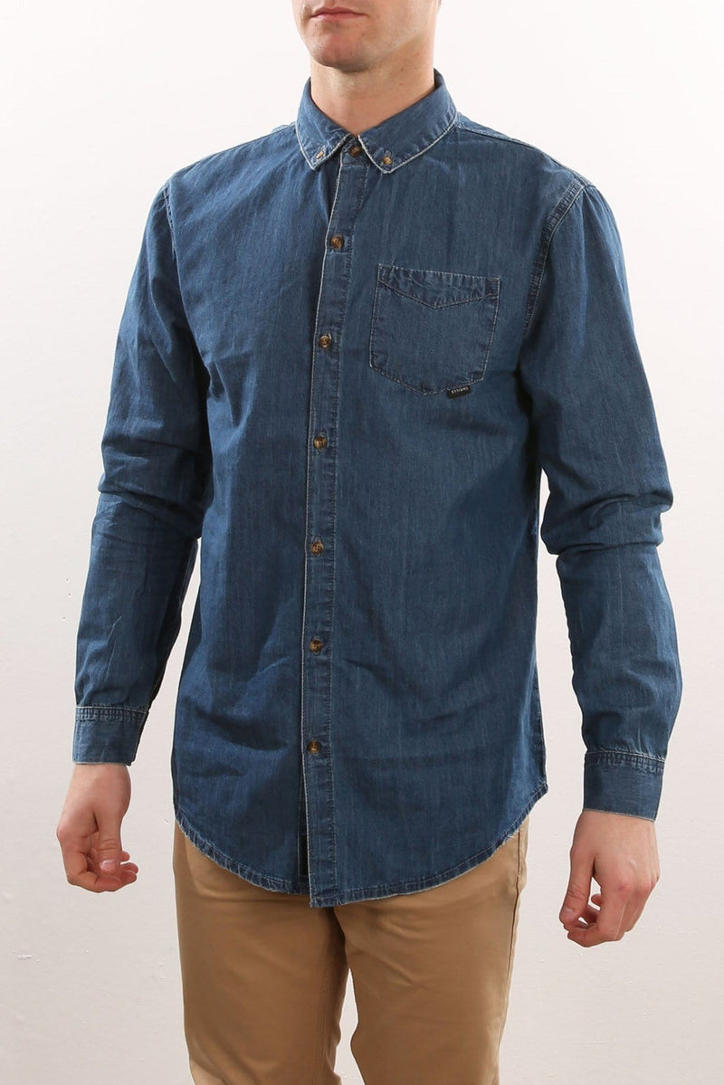 Canyon Shirt Byron Blue Thrills - Jean Jail