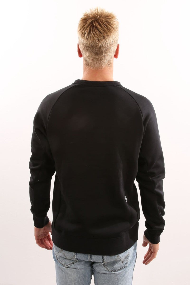 SB Icon Crew Fleece Black Nike - Jean Jail