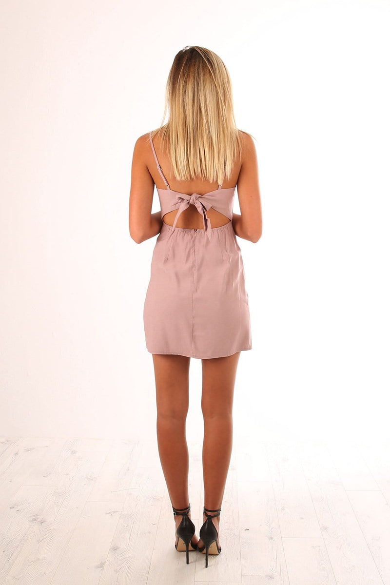 Sedona Dress Blush Jean Jail - Jean Jail