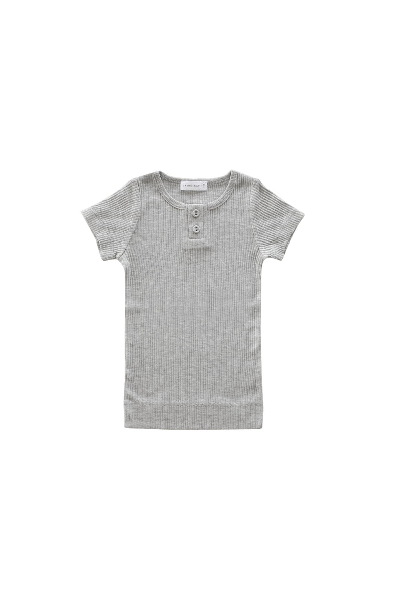 Original Cotton Modal Tee Grey Marle