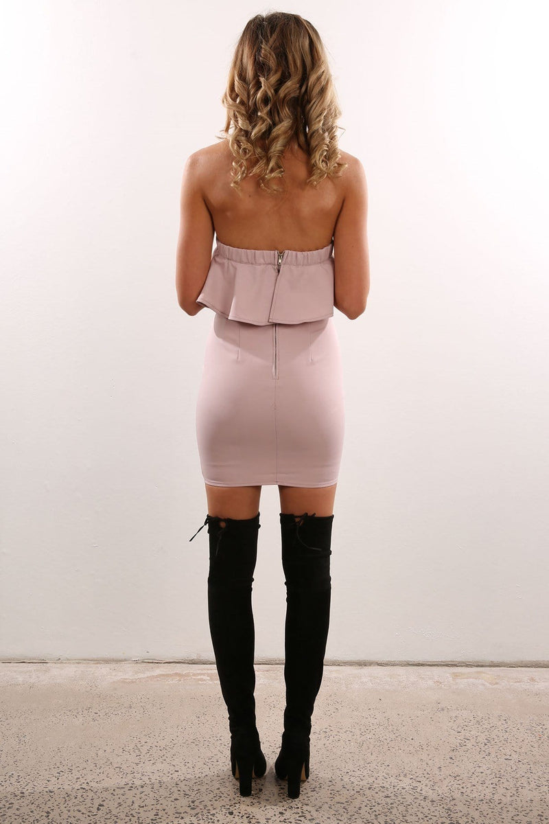 Azariah Dress Blush Jean Jail - Jean Jail