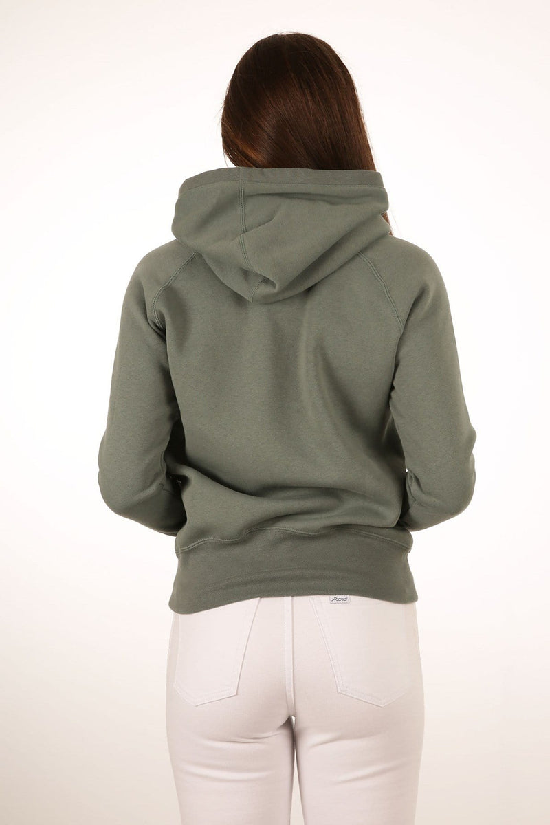 One & Only Pop Fleece Clay Green Hurley - Jean Jail