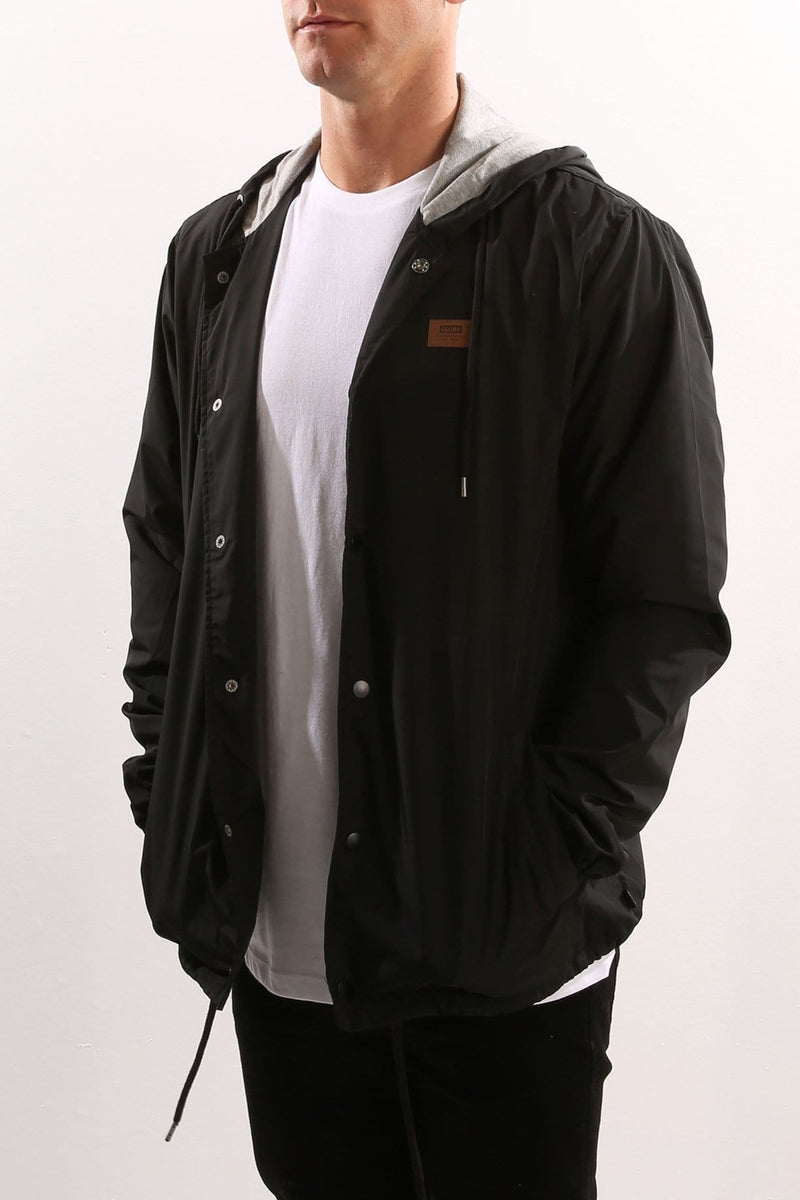 Vista Hooded Jacket Black Globe - Jean Jail