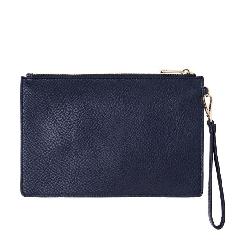 Fulham Clutch French Navy Elms & King - Jean Jail