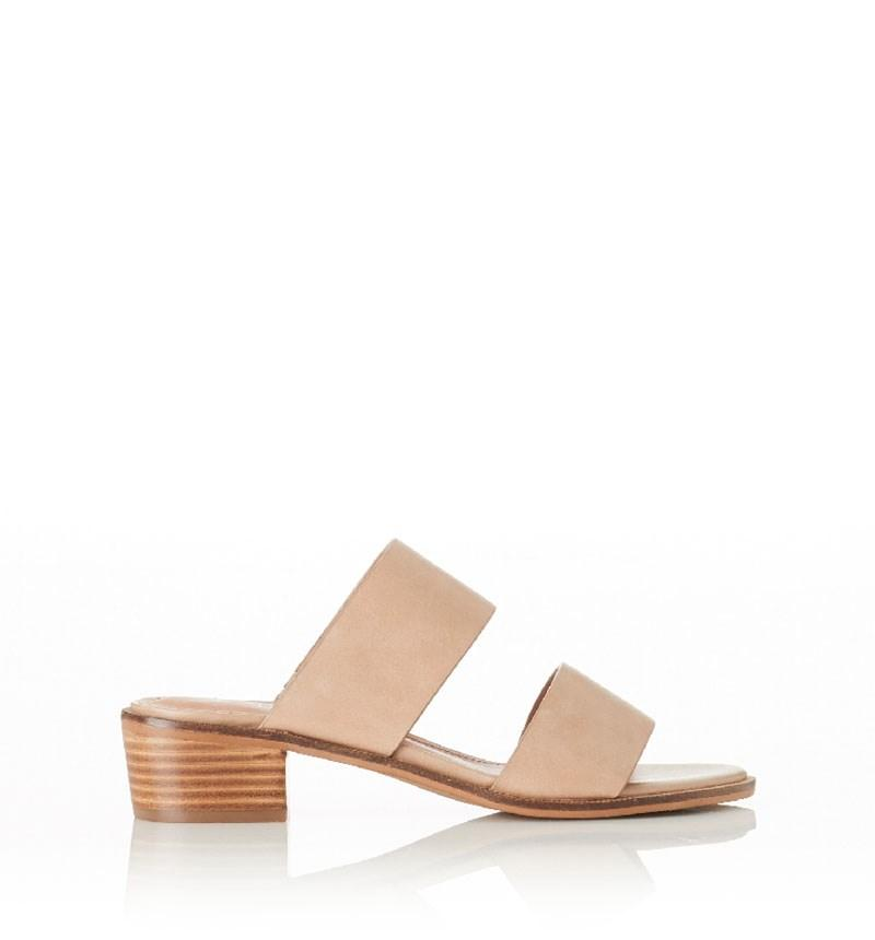 Disco Sandal Natural Leather