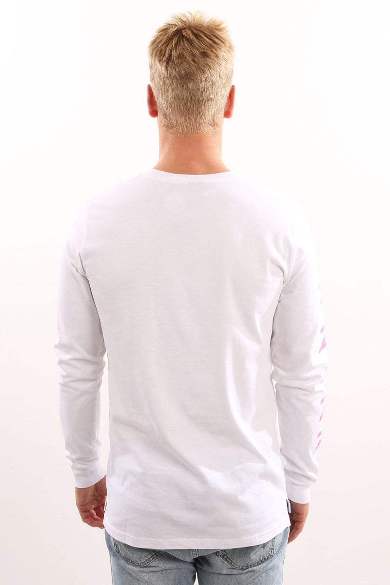 Redeye Long Sleeve Tee White WNDRR - Jean Jail