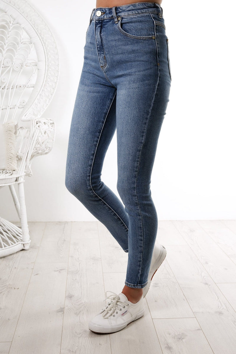 A High Skinny Ankle Basher Jean Union Blue