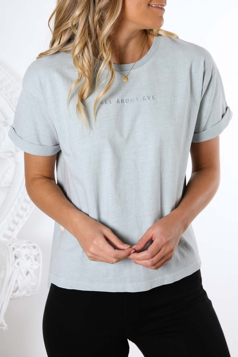 AAE Washed Tee Light Green All About Eve - Jean Jail