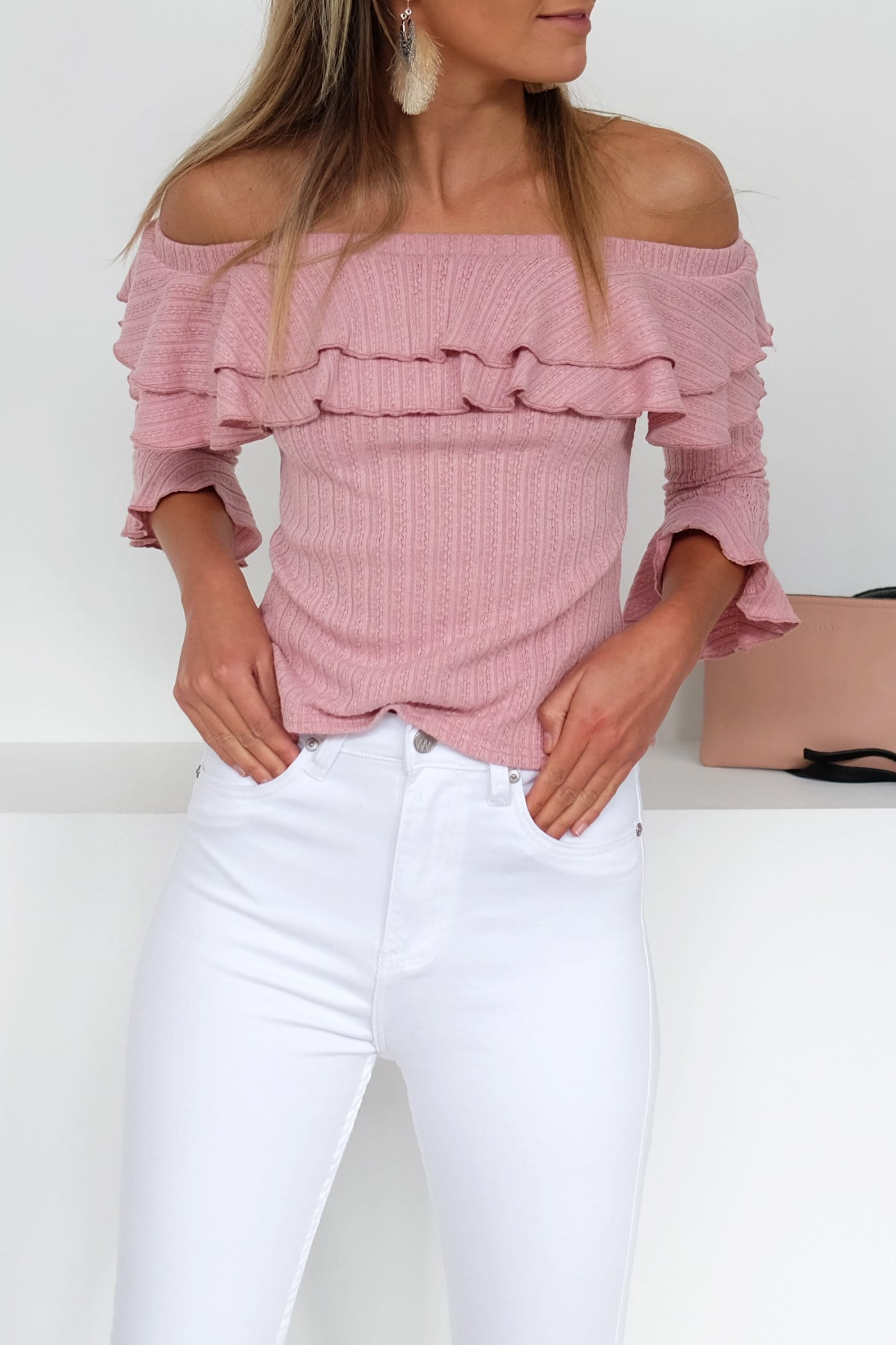 Adaption Top Pink