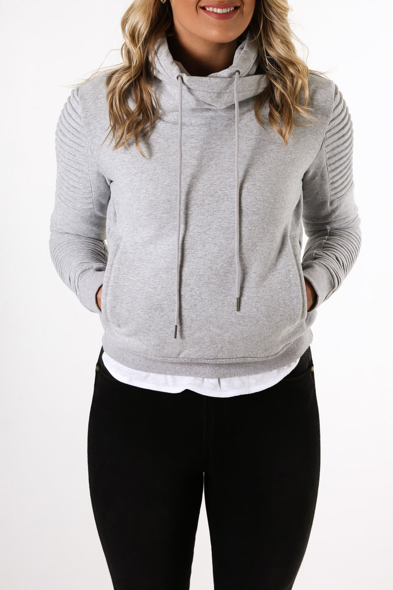 Adeline Sweater Grey Marle