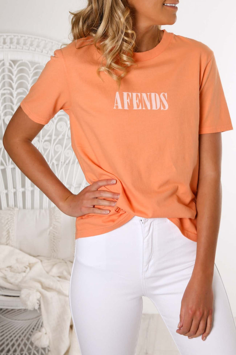 Afends Lithium II Fashion Fit Tee Canyon Sunset Afends - Jean Jail