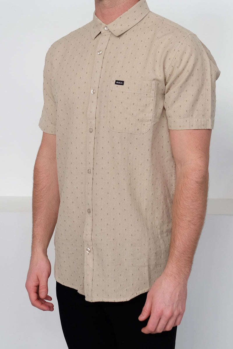 Affirmed II Short Sleeve Shirt Oatmeal