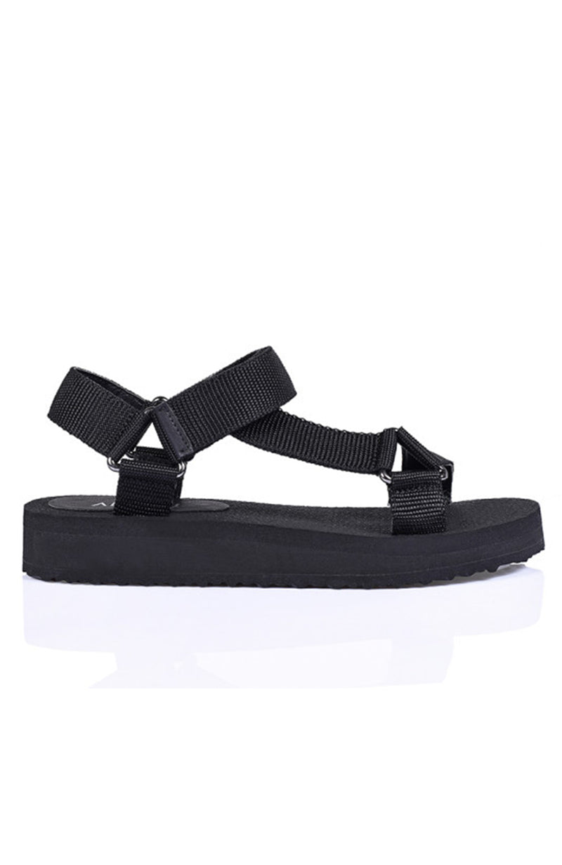 Angel Sandal Black Grosgrain