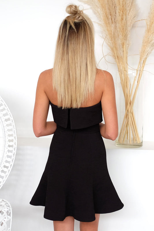 Apex Mini Dress Black