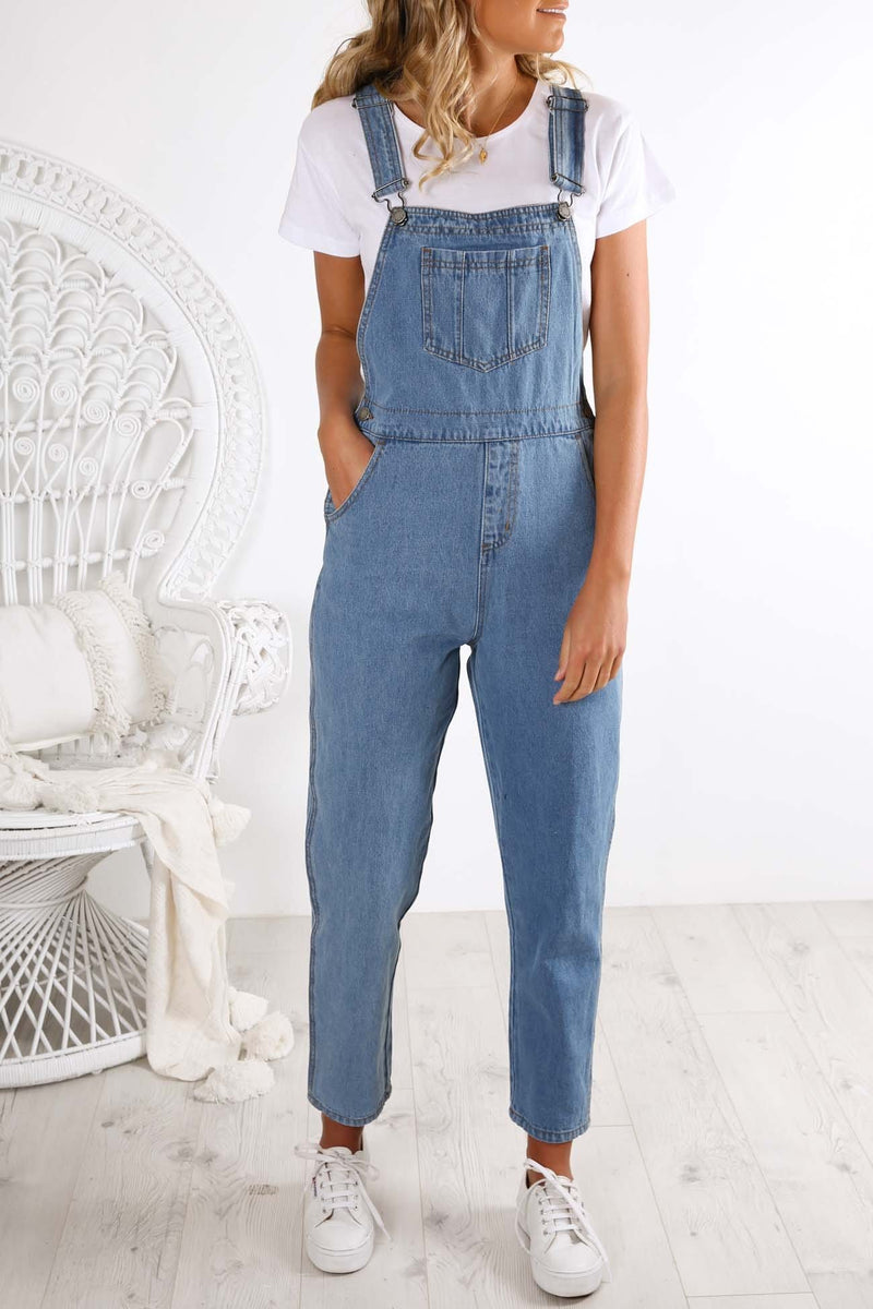 Arthouse Overalls Mid Blue The Fifth Label - Jean Jail