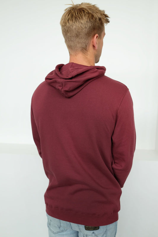 Assassin Hood Sweat Burgundy