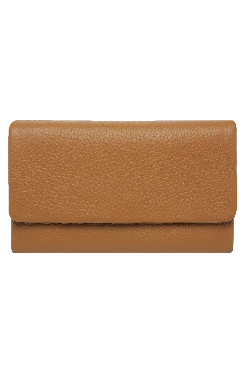 Audrey Wallet Pebble Tan