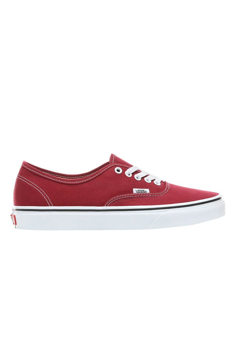 Authentic Rumba Red True White Vans - Jean Jail