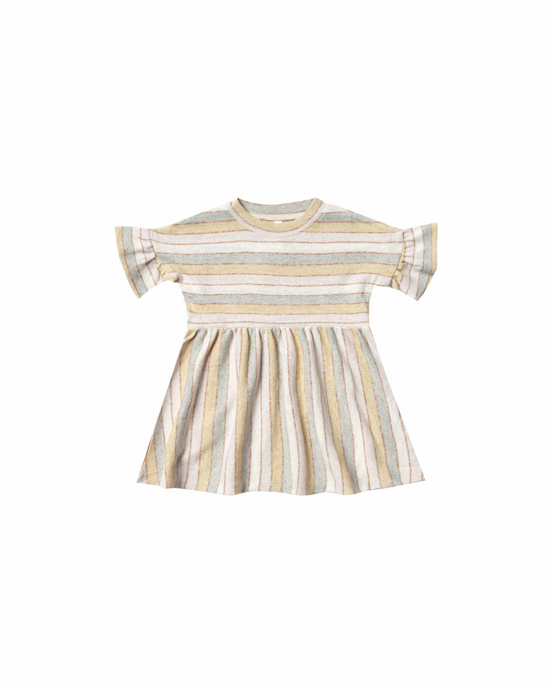 Babydoll Dress Stripe Carnival