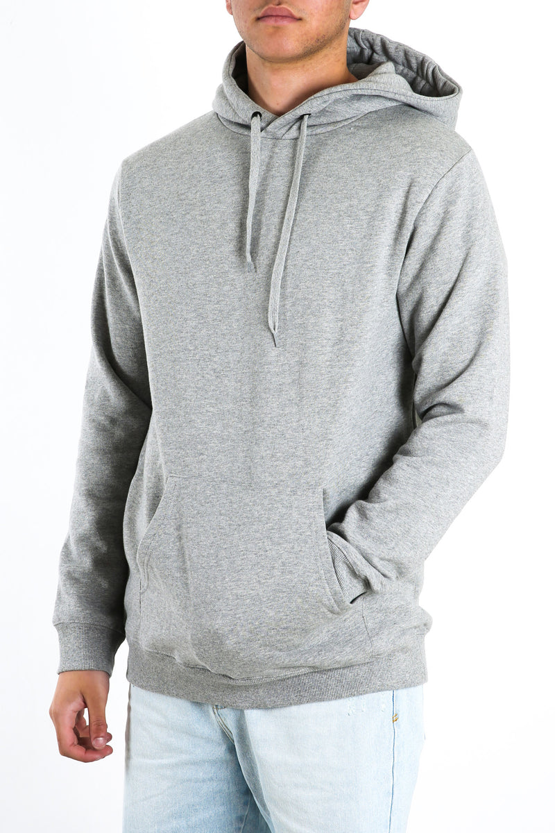 Basic Hoody Grey Marle