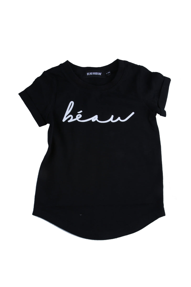 Beau Signature Tee Black