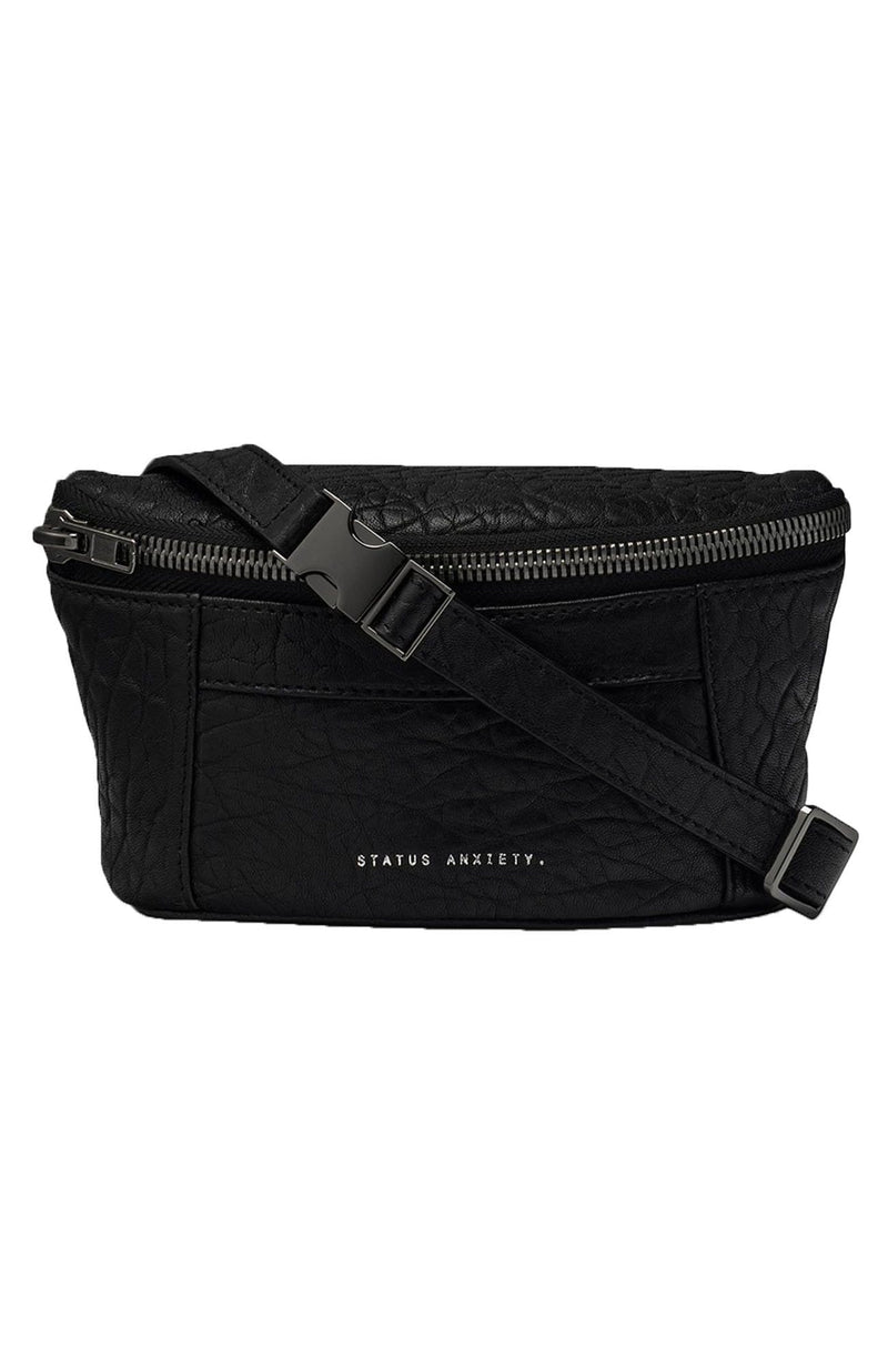 Best Lies Bum Bag Black Bubble Status Anxiety - Jean Jail