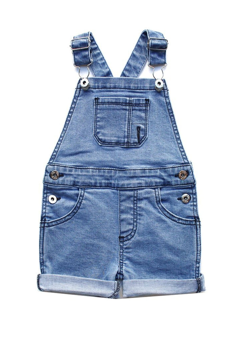 Blue Overall Shorts