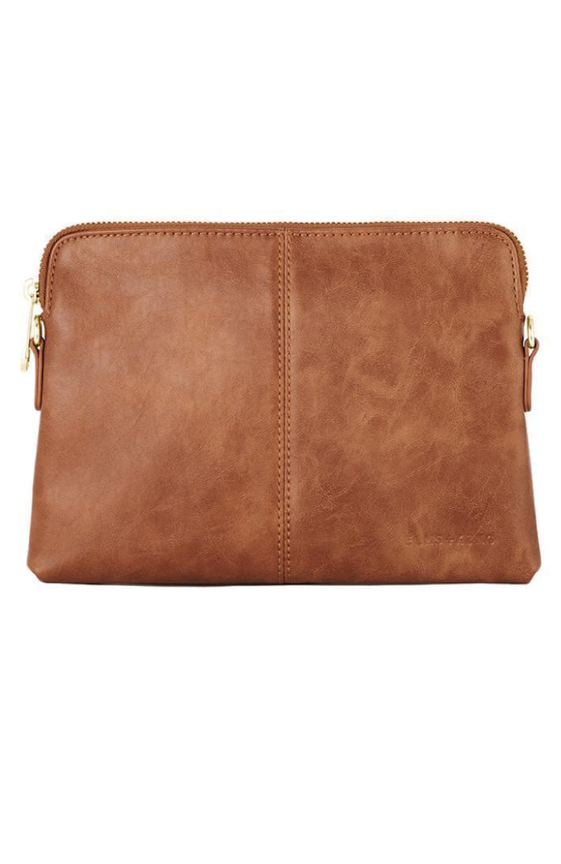 Bowery Clutch Tan Smooth
