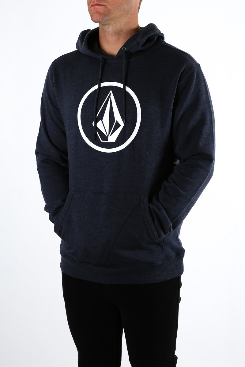 Brass Tacks Pullover Fleece Navy Heather