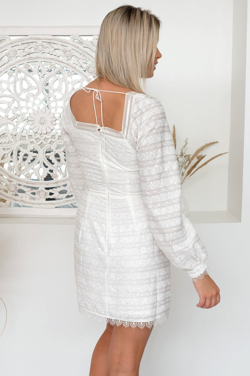 Brodie Mini Dress White