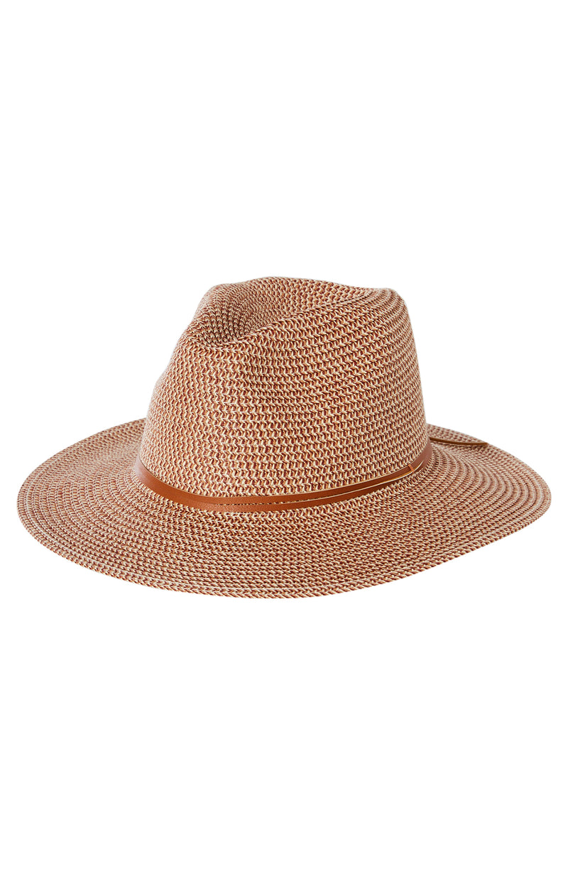 Gisele Straw Hat Copper Redwood