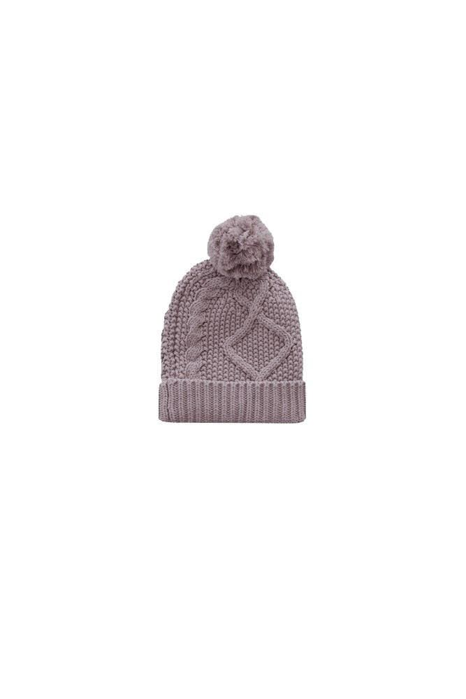 Cable Knit Hat Fawn