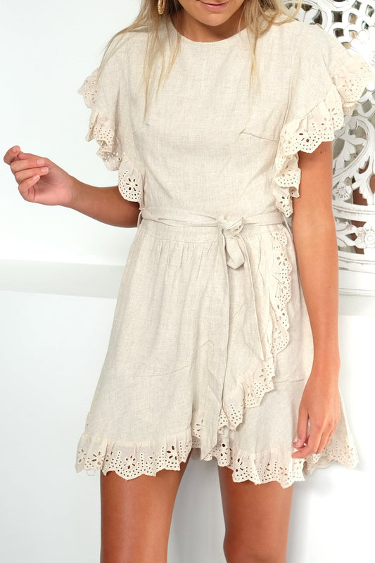Care For Me Dress Beige
