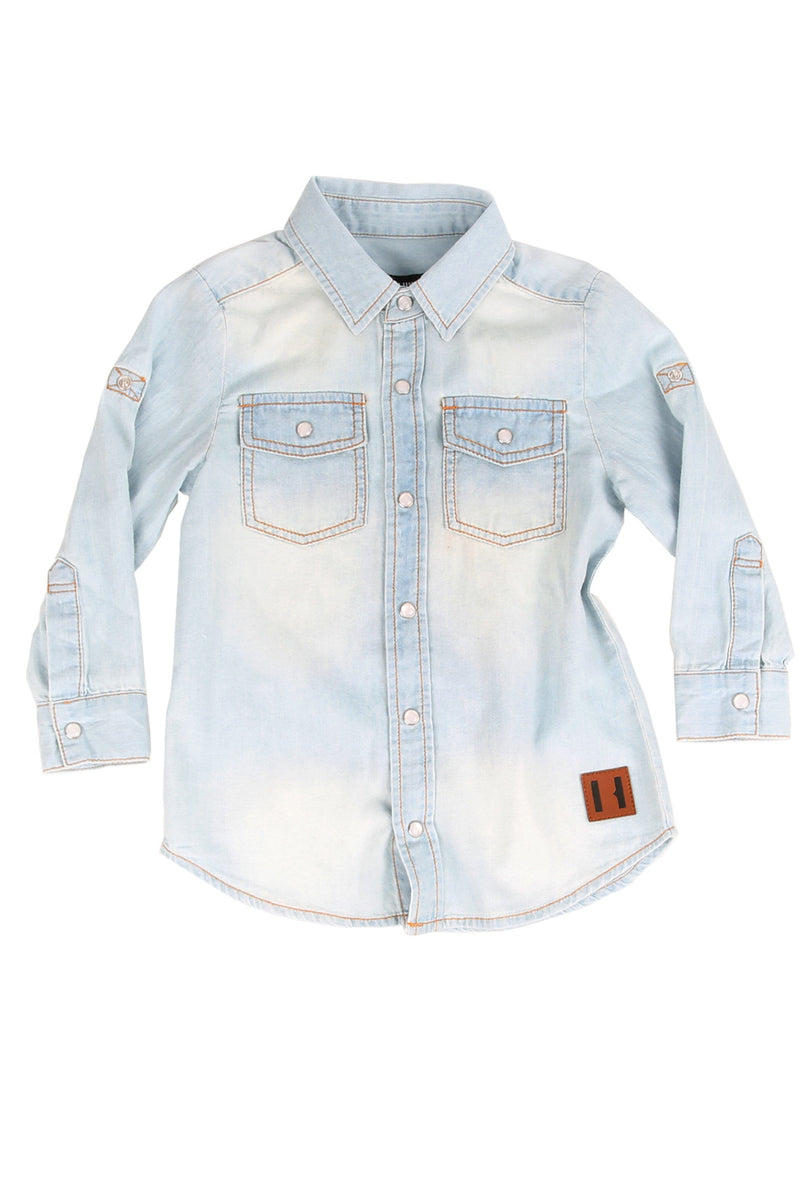 Chambray Denim Shirt