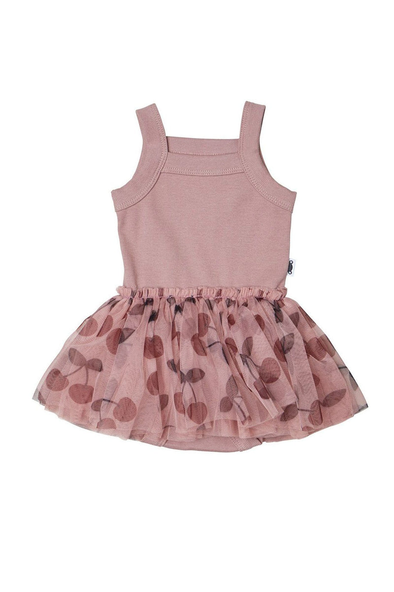 Cherry Summer Ballet Dress Berry
