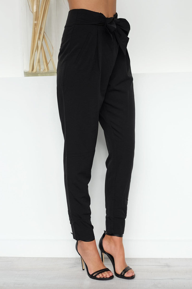 Cicilly Pants Black Jean Jail - Jean Jail