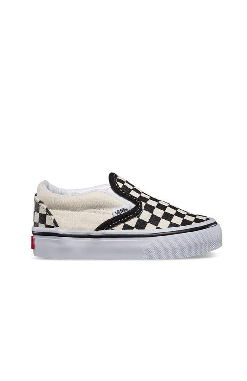 Classic Slip On Black White Checkerboard