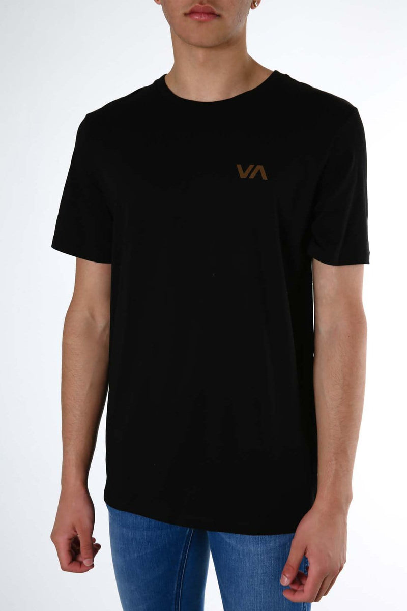 Club Tee Black RVCA - Jean Jail