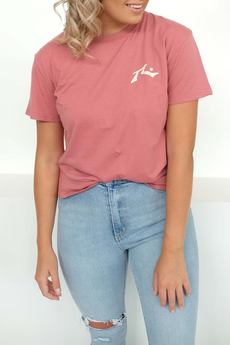 Competition Short Sleeve Tee Withered Rose Rusty - Jean Jail