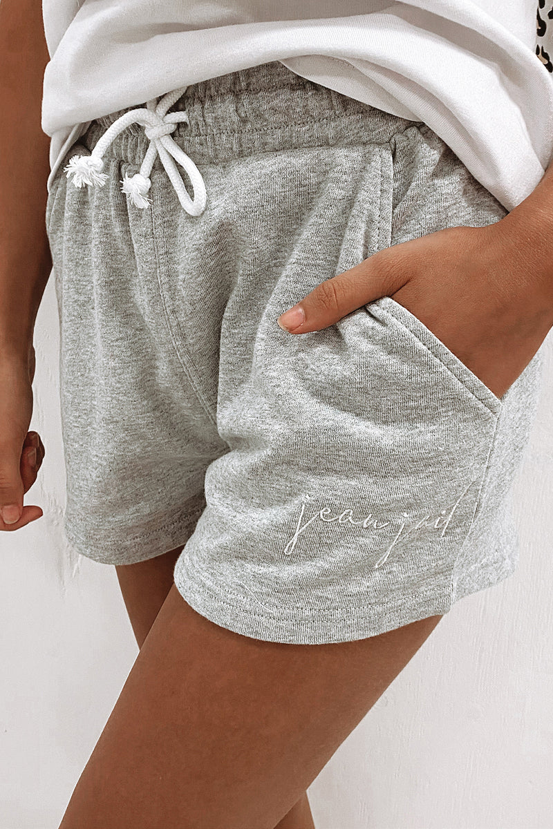 Confident Short Grey Marle