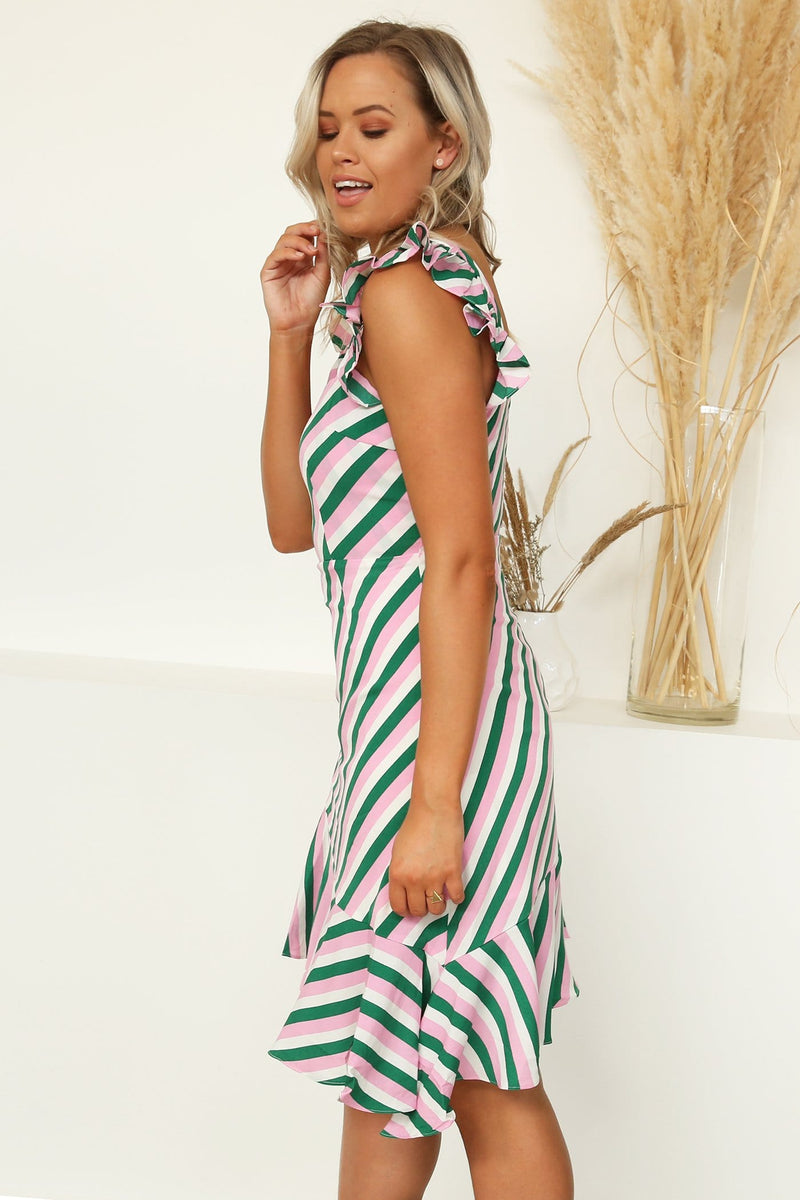 Conspiration Dress Stripe