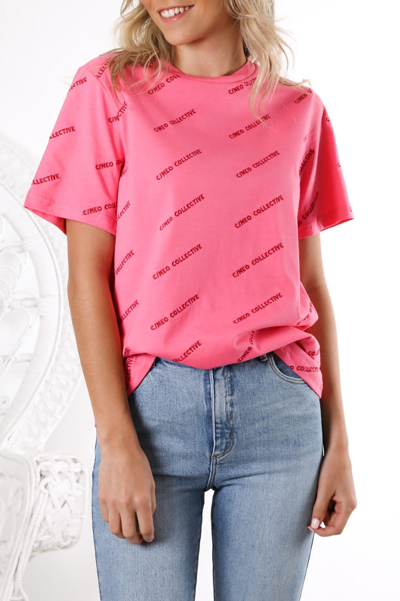 Contempt T-Shirt Pink
