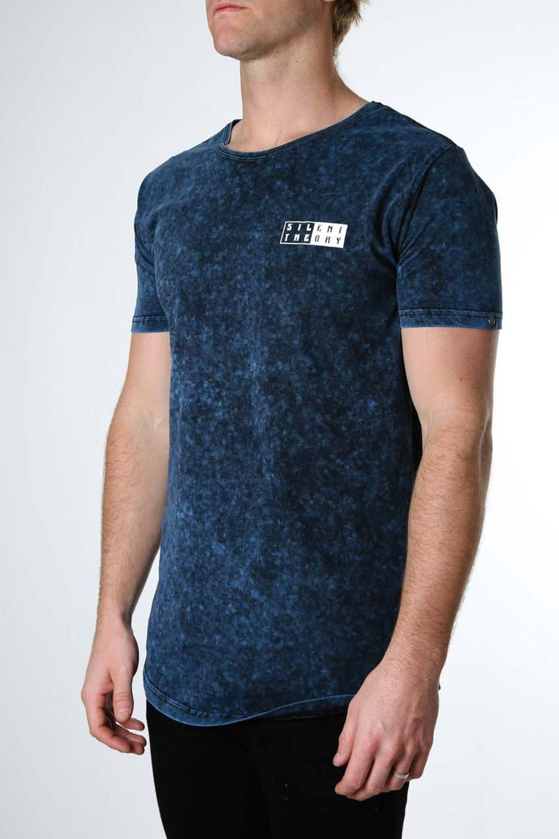 Contra Tee Navy Silent Theory - Jean Jail