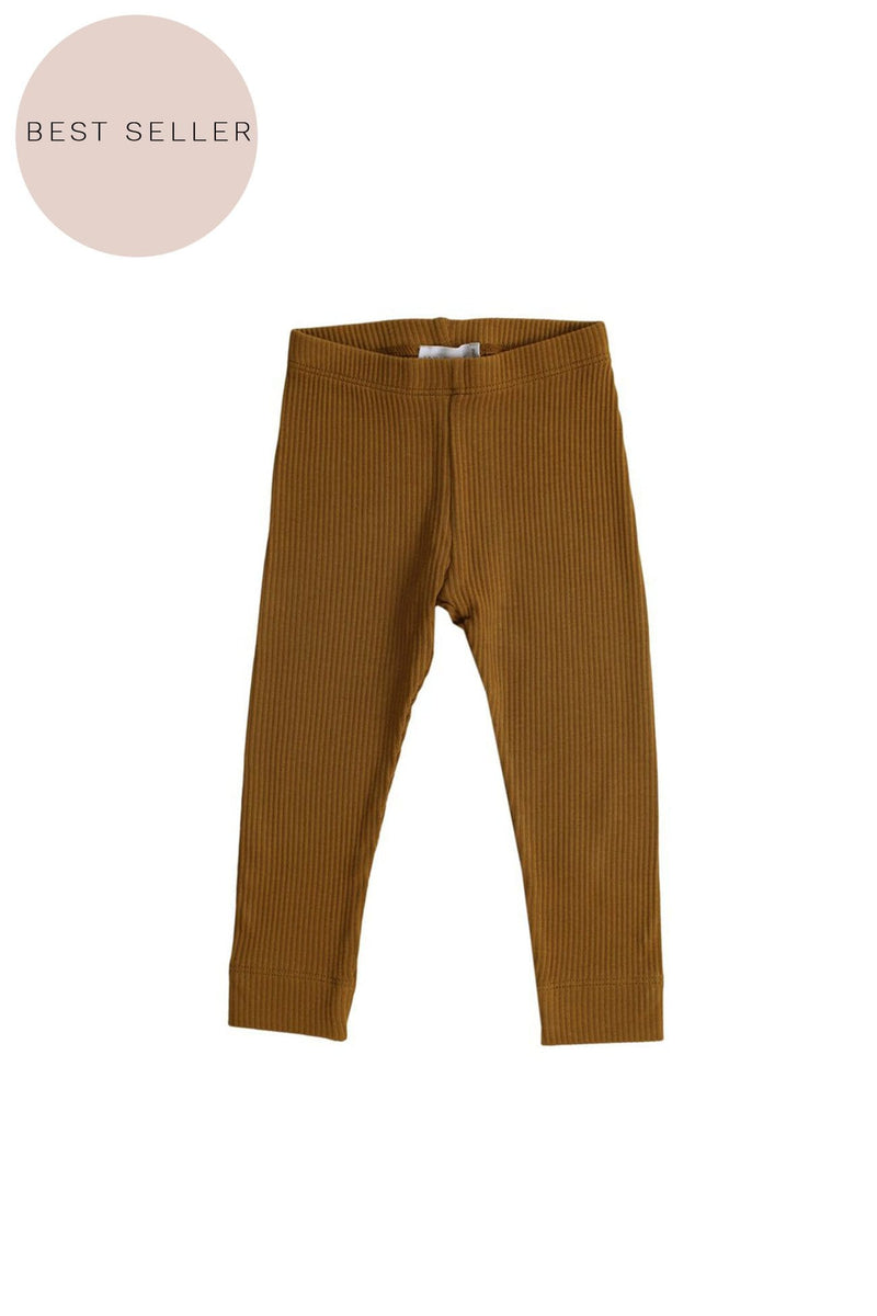 Cotton Modal Leggings Golden