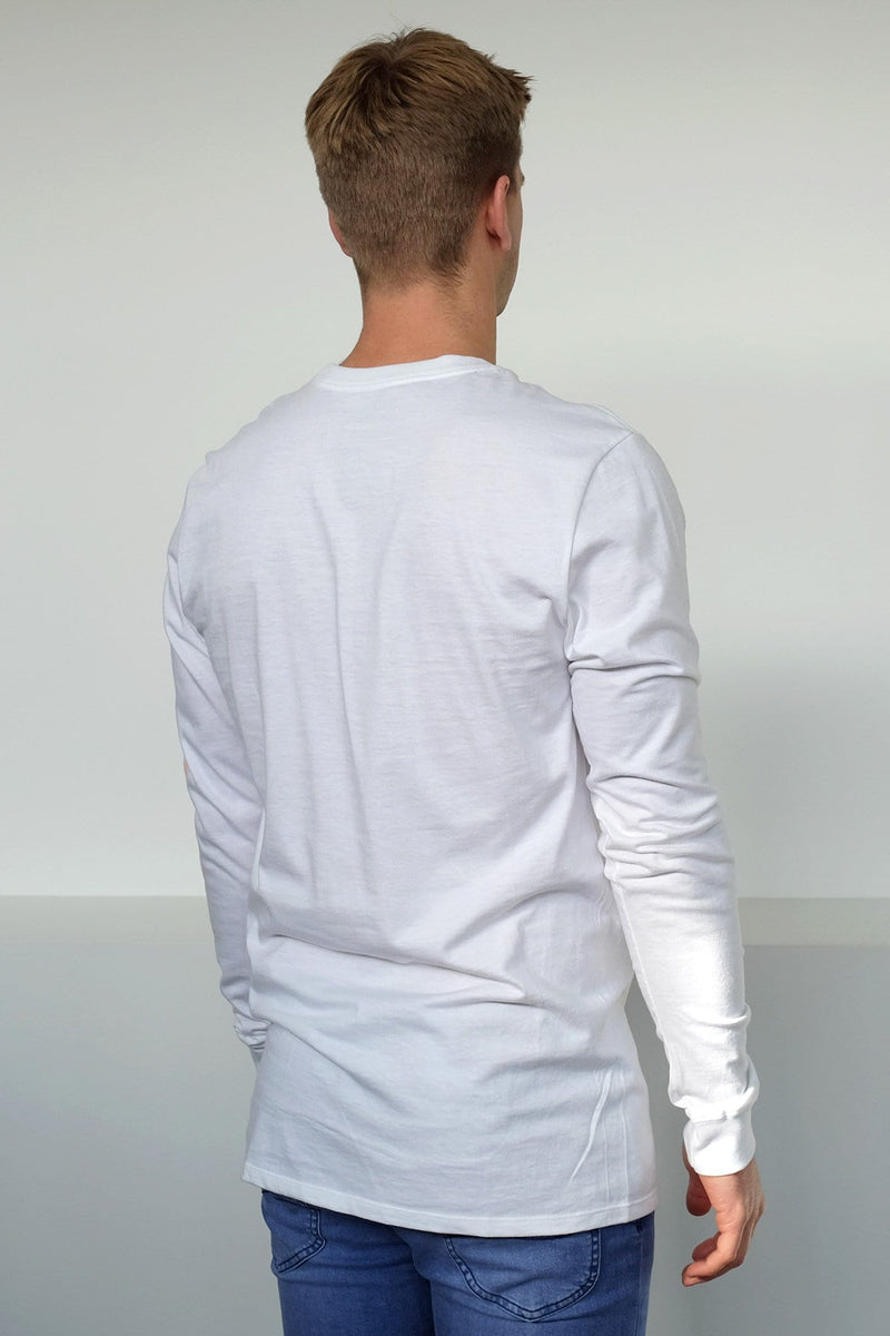 Cre Arm Long Sleeve Shirt White