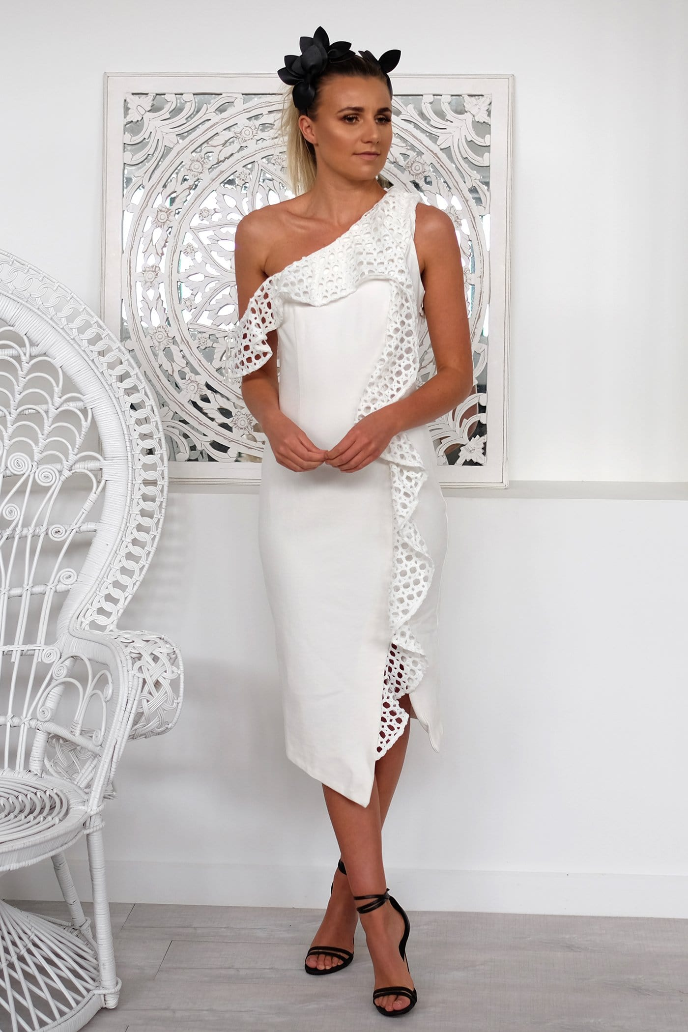 Crystal Dress White