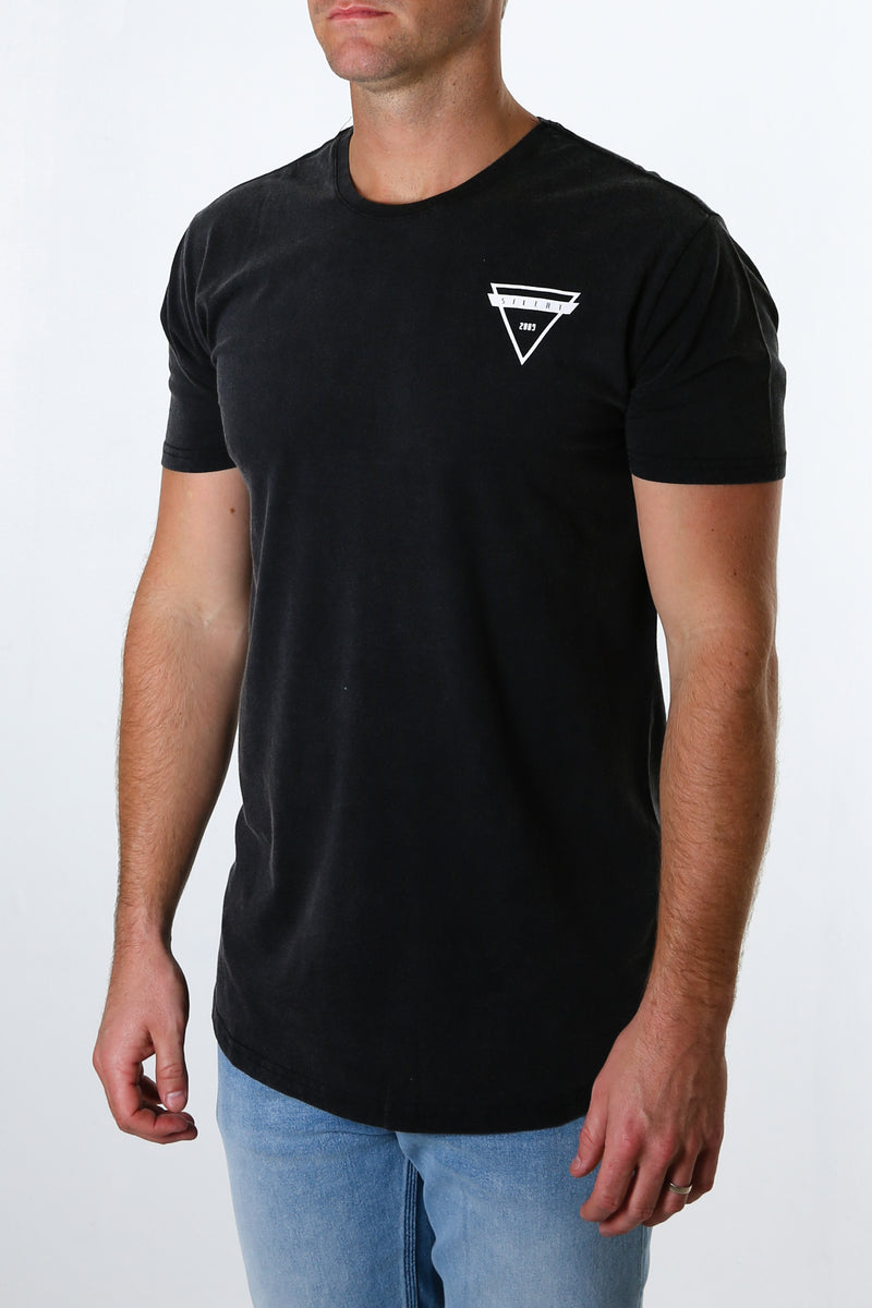 Cutter Tee Washed Black