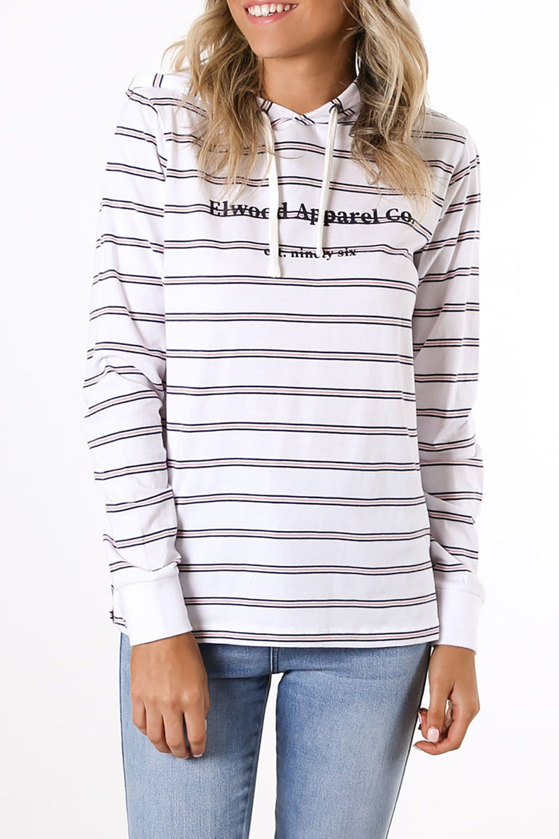 Darcey Hood Long Sleeve Stripe
