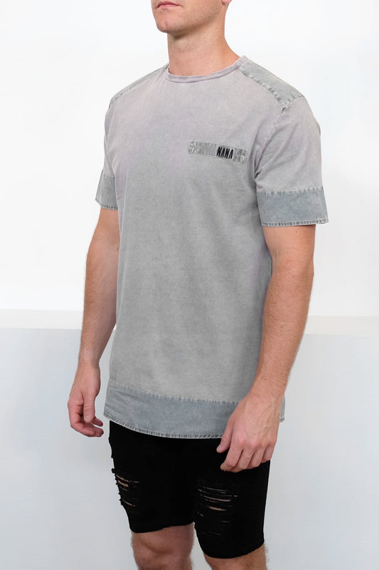 Dawn T-Shirt Acid Grey